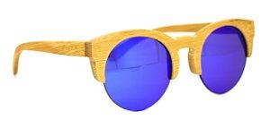 Óculos de Sol de Bambu Carmel Purple