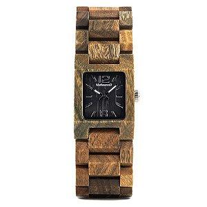 Relógio de Madeira Vicaria