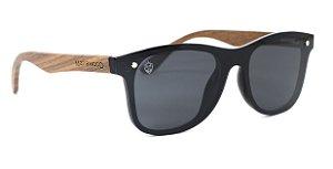 Óculos de Sol Frente Flat Barker Black