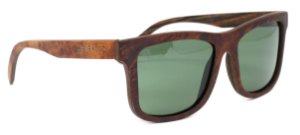 Óculos de Sol de Madeira Enoch