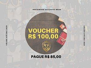 VOUCHER R$ 100,00