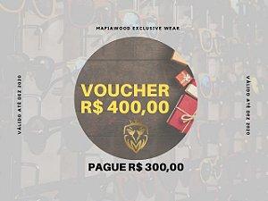 VOUCHER R$ 400,00