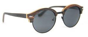 Óculos de Sol de Madeira e Metal Parker