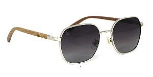 Óculos de Sol de Madeira e Metal MW Dion
