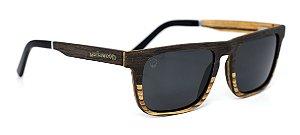 Óculos de Sol de Madeira Costello Dual