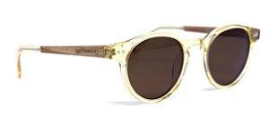 Óculos de Sol de Acetato e Madeira Tommy