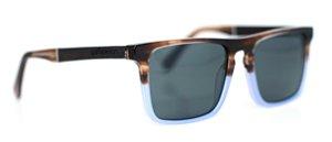 Óculos de Sol de Acetato e Madeira Barboza