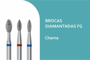 Broca Diamantada Chama FG