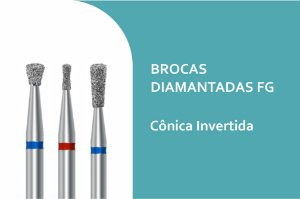 Broca Diamantada Cônica Invertida FG