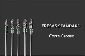 Fresas Standards - Acabamento Grosso