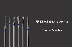 Fresas Standards -  Acabamento Médio