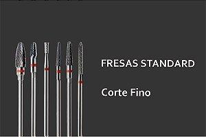 Fresas Standards - Acabamento Fino