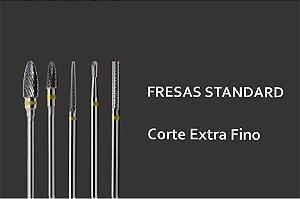 Fresas Standards - Acabamento Extra Fino
