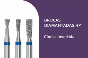 Broca Diamantada Cônica Invertida HP