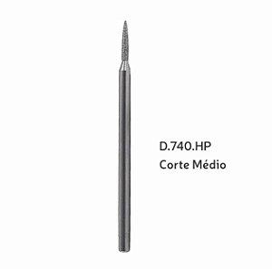 Broca Diamantada Cônica Topo em Chama HP - D740HP