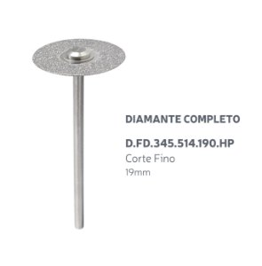 Disco Diamantado - Diamante Completo - D.FD.345.514.190.HP