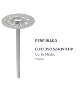 Disco Diamantado - Perfurado - D.FD.350.524.190.HP