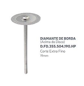 Disco Diamantado - Diamante de Borda (Acima do Disco) - D.FD.355.504.190