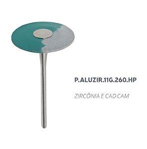 Polidor - P.ALUZIR.11G.260.HP - Zircônia e CAD CAM