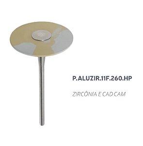 Polidor - P.ALUZIR.11F.260.HP - Zircônia e CAD CAM