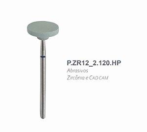 Polidor Abrasivo - P.ZR12_2.120.HP - Zircônia e CAD CAM