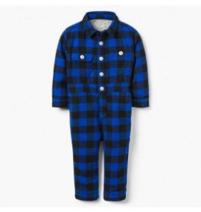 Macacão Gymboree Buffalo Check