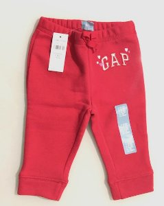 Calça de Moletom GAP Print Gap Pull-On