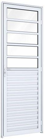 Porta Mista Travessa Ventilada - Ideale