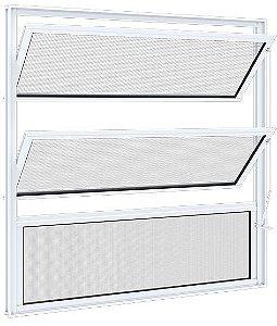 Basculante 60x60 - Riobras Alumínio