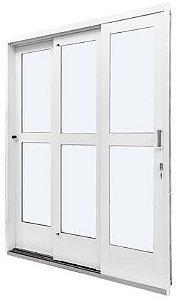 Porta de Correr 3 Folhas - QualitySol