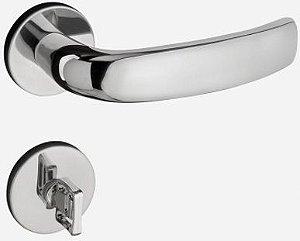 Fechadura Victória Cromada Banheiro - Pado