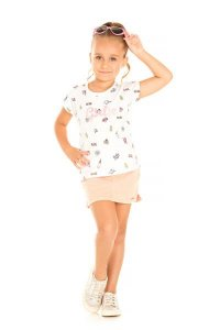 Blusa Mullet Infantil Menina Off White