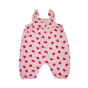 Macacão Infantil Menina Rosa