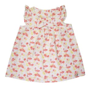Vestido Costas Aberta Infantil Feminino Cereja