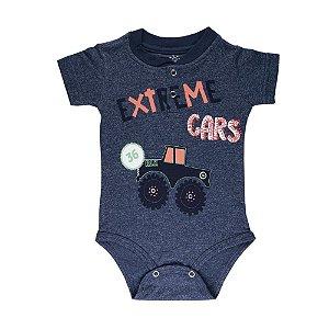 Body Extreme Cars Infantil Menino Marinho