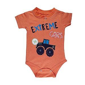 Body Extreme Cars Infantil Menino Laranja