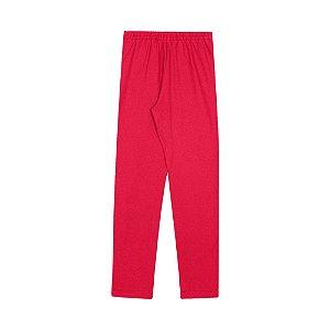Calça Legging Infantil Menina Vermelho