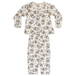 Pijama Infantil Menina Pipoca