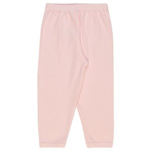 Calça Infantil Básica Menina Rosa Claro