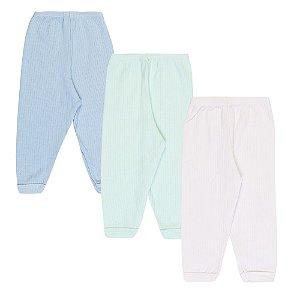 Kit 3 Calças Pijama Infantil Menino