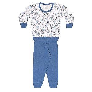 Pijama Infantil Menino Espaço