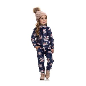 Jaqueta Plush Inverno Infantil Menina