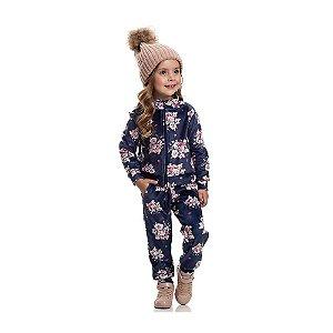 Calça Plush Inverno Infantil Menina