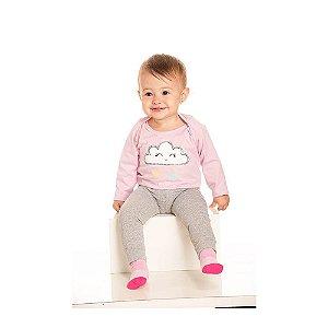 Trijunto Pijama Infantil Menina