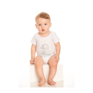 Trijunto Pijama Elefantinho Infantil Menino