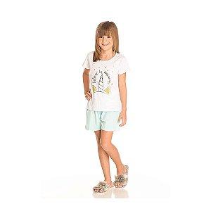 Conjunto Pijama Unicórnio Infantil Menina