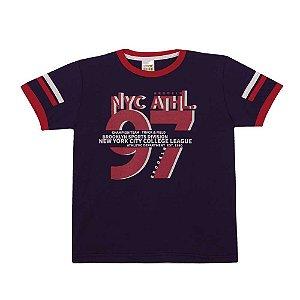 Camiseta New York 97 Infantil Menino Marinho