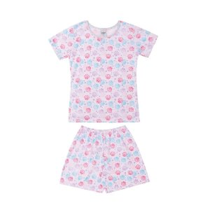 Pijama Verão Conchinhas Infantil Menina