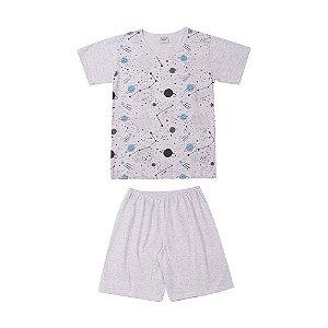 Pijama Verão Espaço Infantil Menino