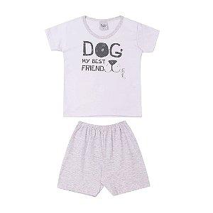 Pijama Dog Style e Short Infantil Menino